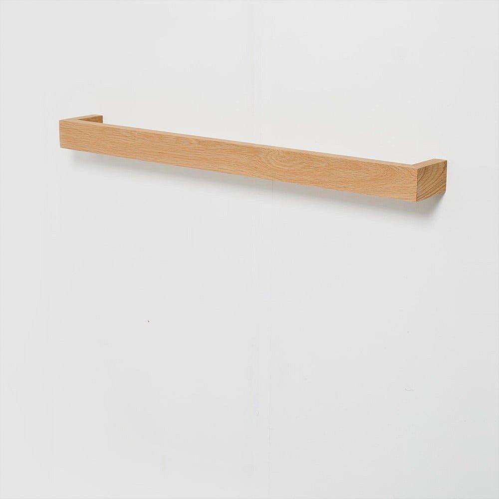 Nástěnný věšák na ručníky zdubového dřeva Wireworks