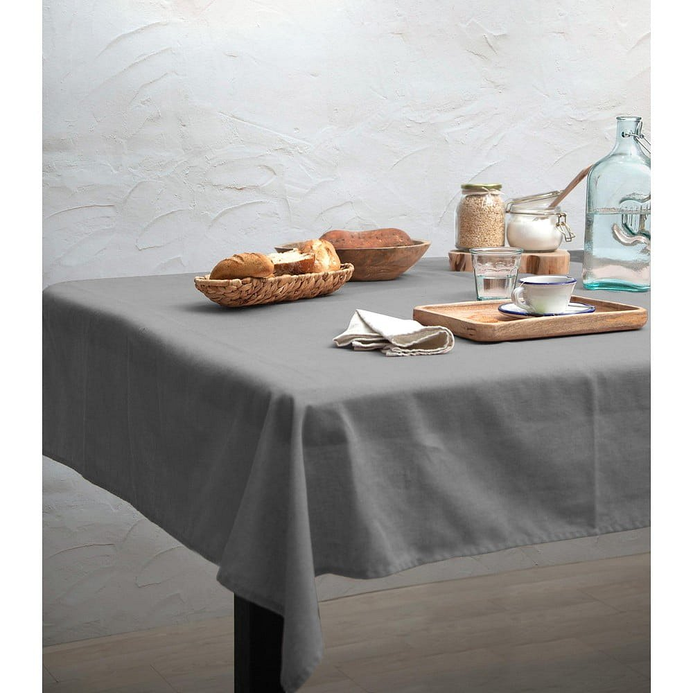 Ubrus Linen Couture Cool Grey, 140 x 200 cm