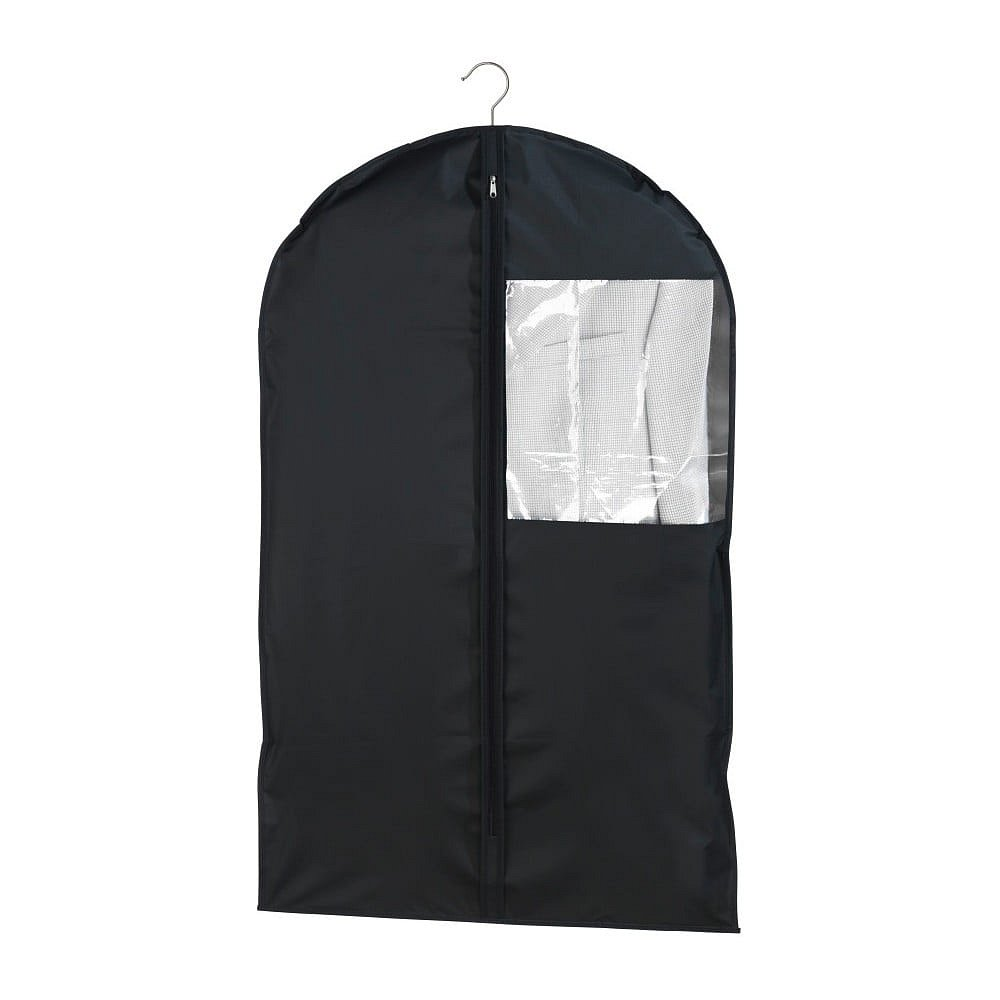 Černý obal na oblek Wenko, 100x60cm