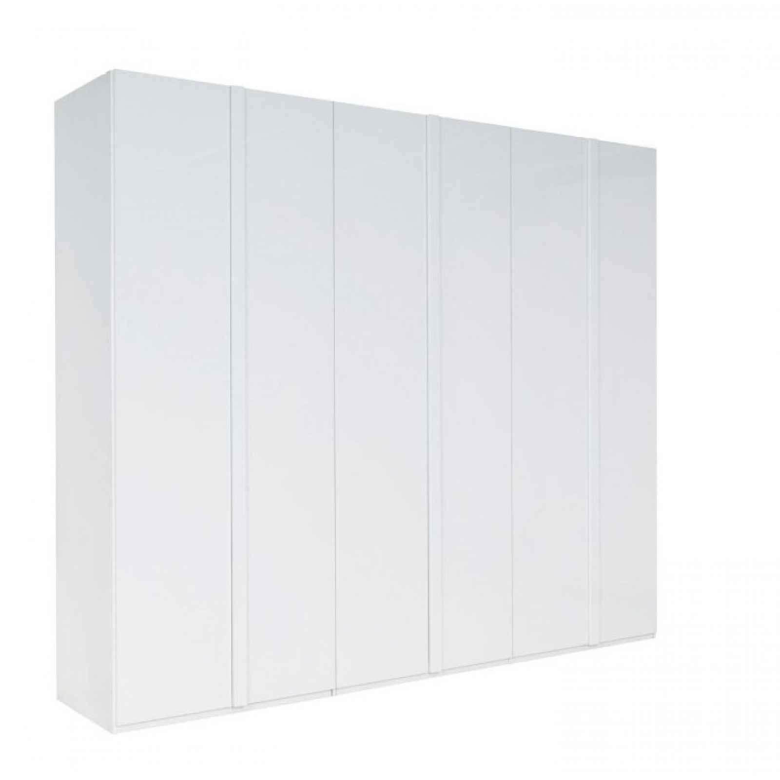 Skříň, bílá / extra vysoký lesk HG, ITALIA 0000210538 Tempo Kondela