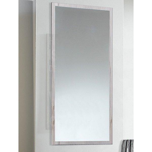 Nástěnné zrcadlo Sunday, bělený dub
