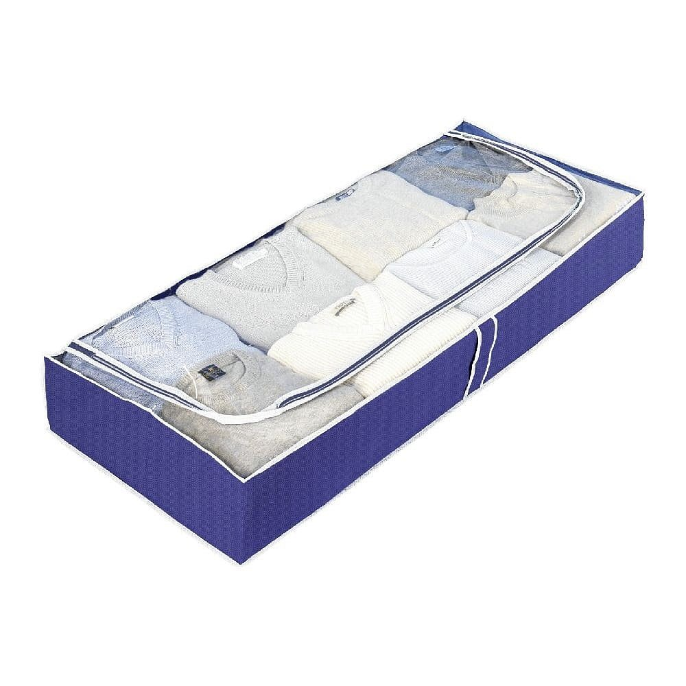 Modrý úložný box Wenko Ocean, délka103cm