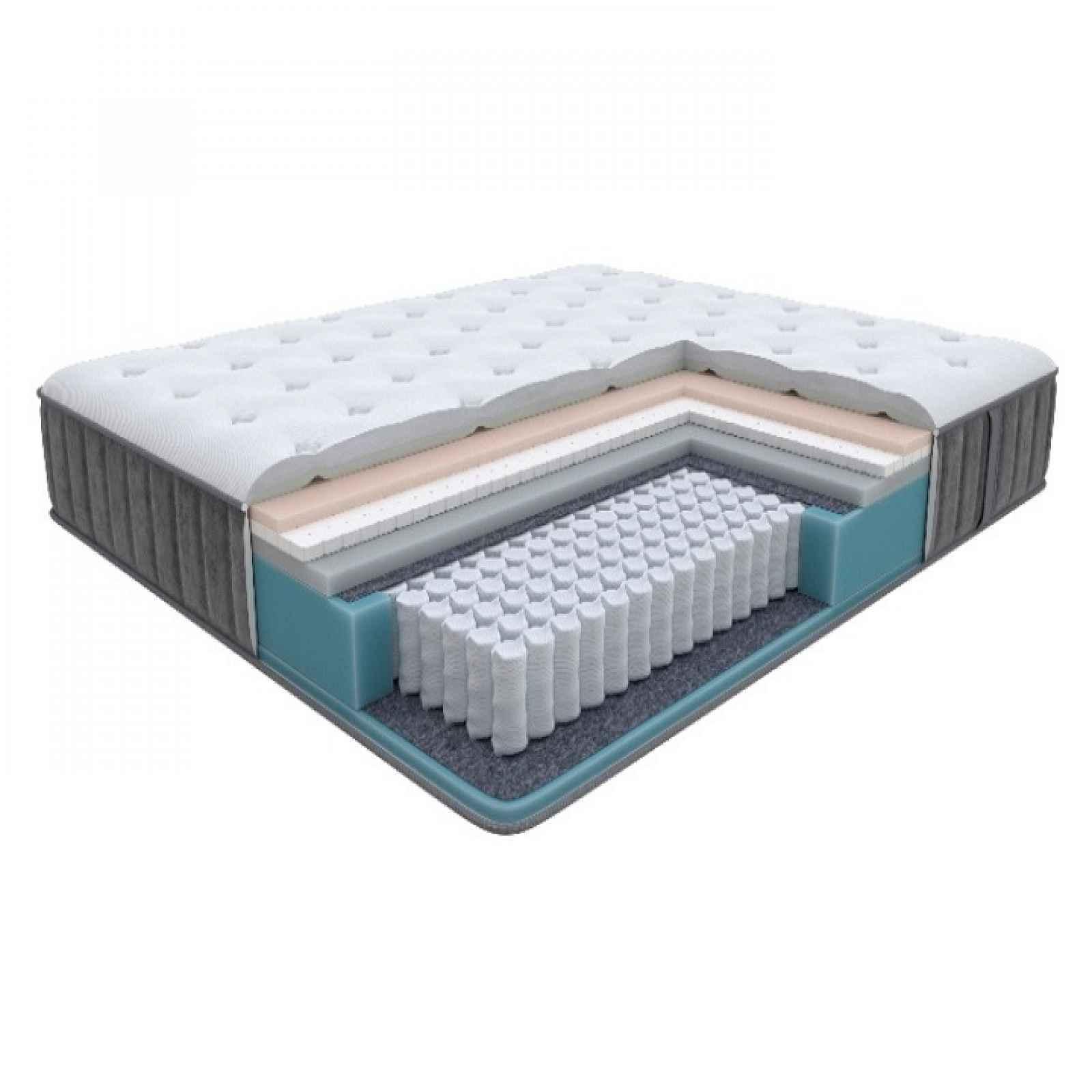 Enzio GLORY Soft 80 x 200 x 27 cm měkká vysoká luxusní pružinová matrace