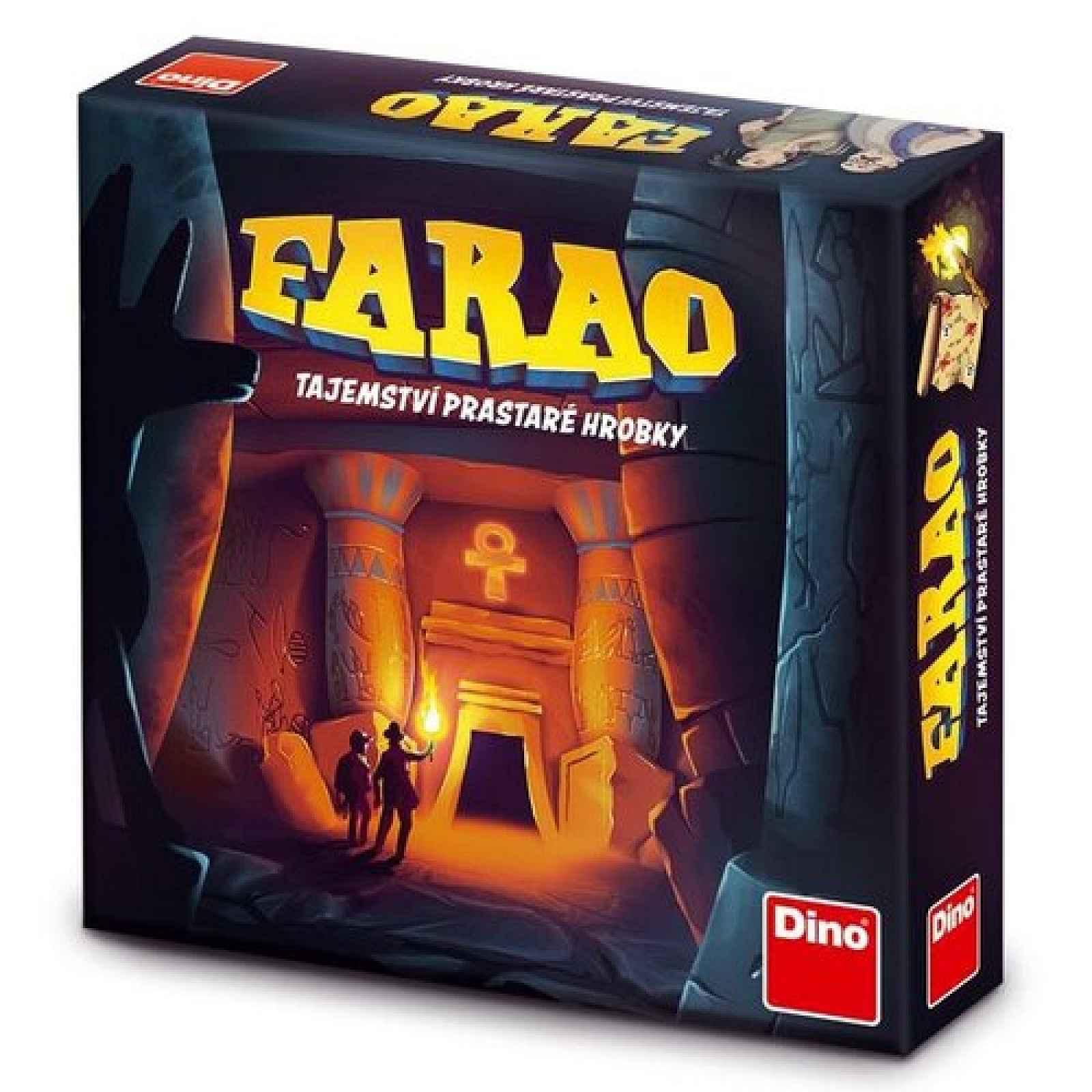 Dino Společenská hra Farao Tajemství prastaré hrobky