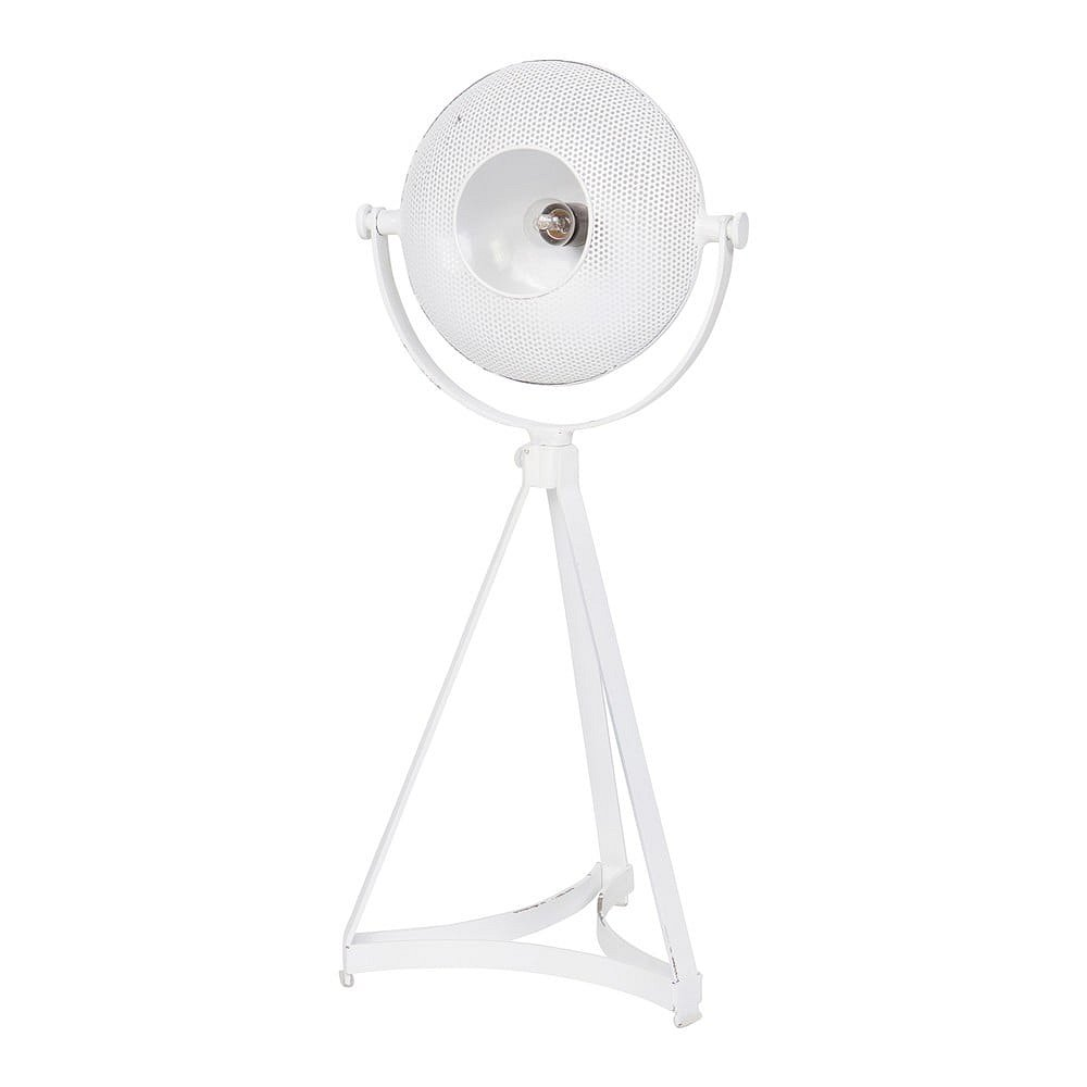 Bílá stolní lampa BePureHome Blown