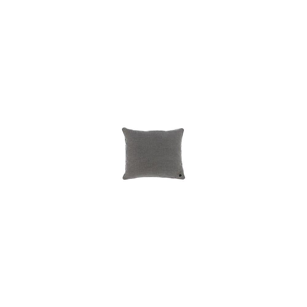 Šedý výhřevný polštář Cosi z látky Sunbrella, 50 x 50 cm