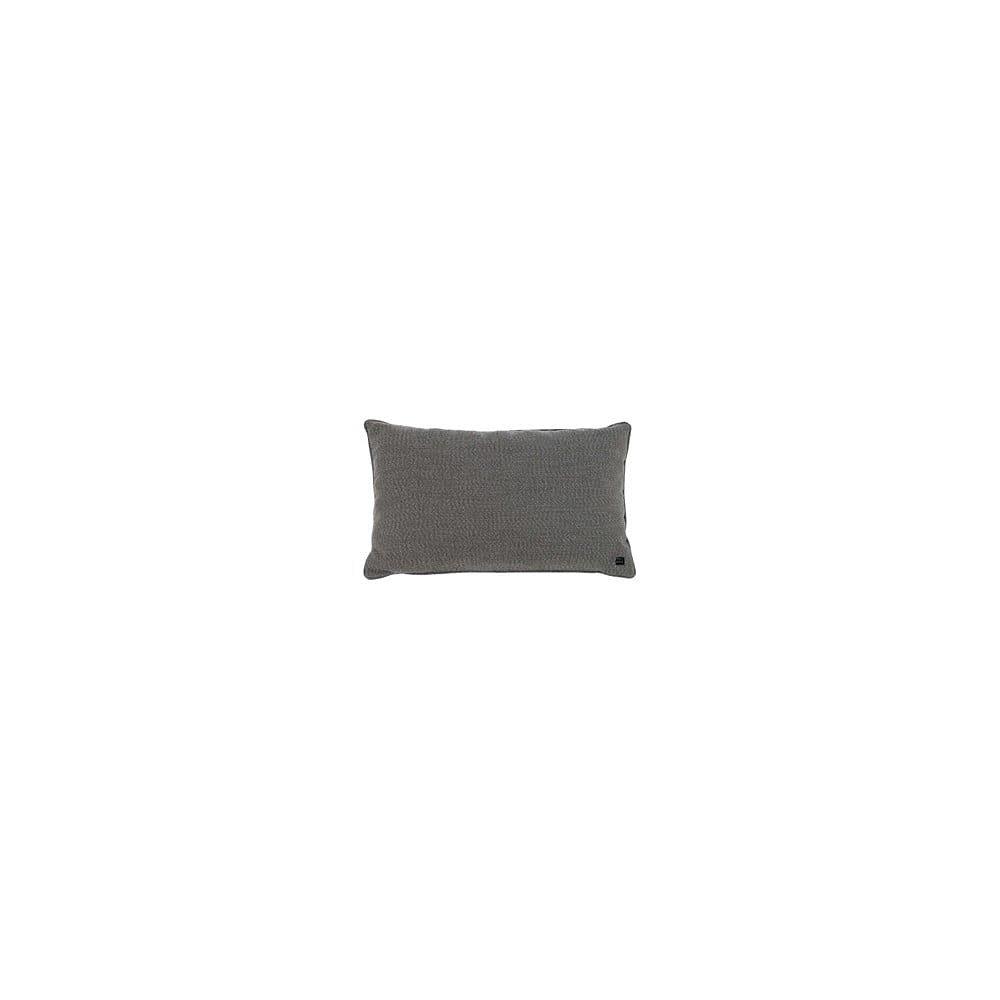 Šedý výhřevný polštář Cosi z látky Sunbrella, 40 x 60 cm