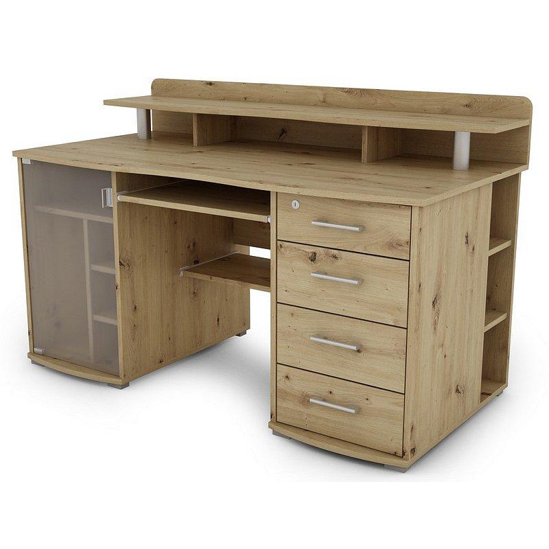PC stůl Picasso, dub artisan