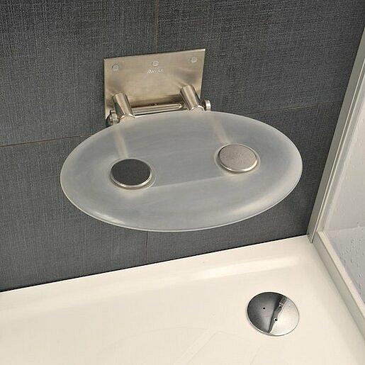 Sprchové sedátko Ravak Ovo P čirá B8F0000000