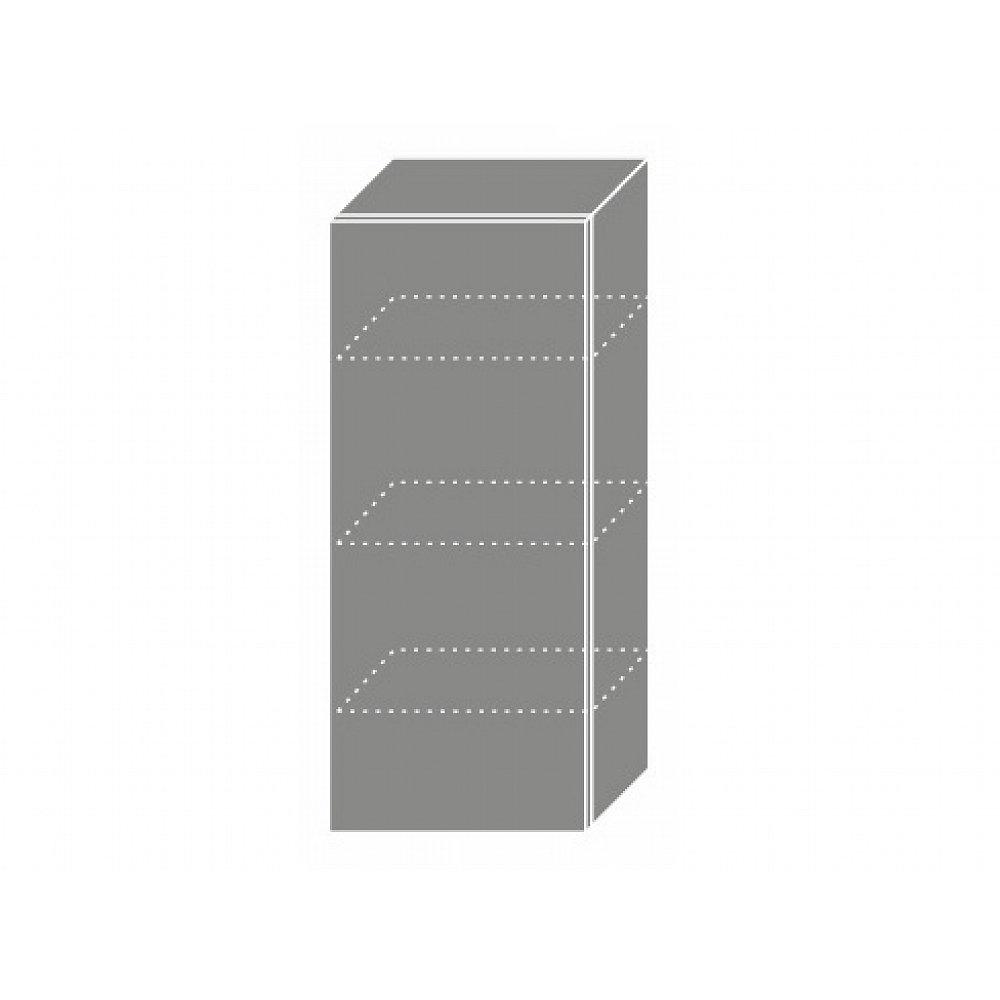 QUANTUM, skříňka horní W4 40, white mat/grey