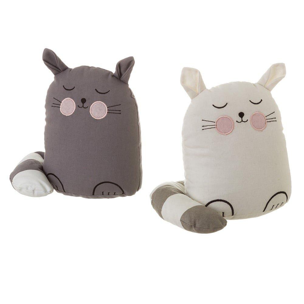 Sada 2 zarážek do dveří ve tvaru kočky Unimasa Kitty