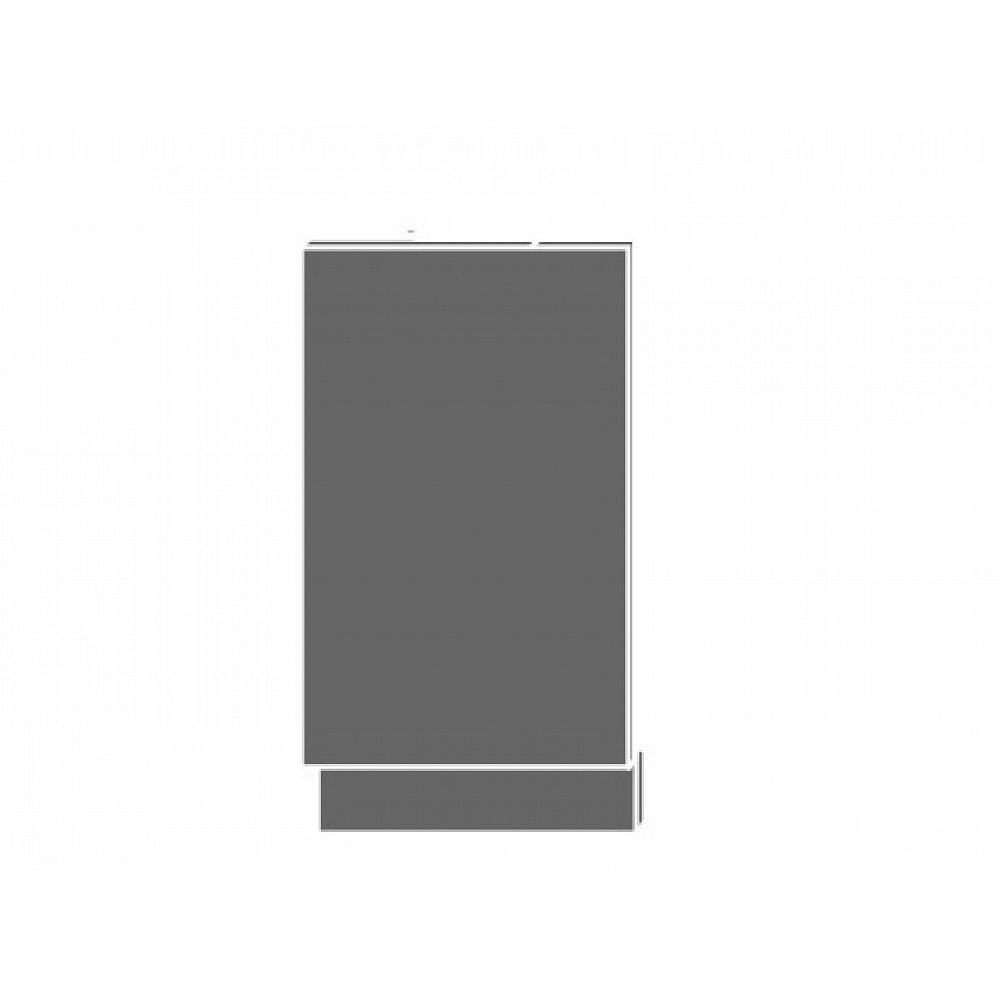 QUANTUM, dvířka k myčce ZM 45, white mat/grey