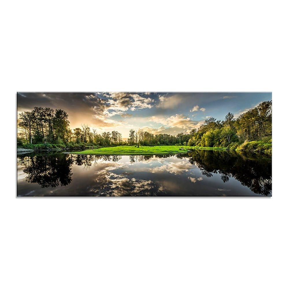 Obraz Styler Glasspik Nature, 50 x 125 cm