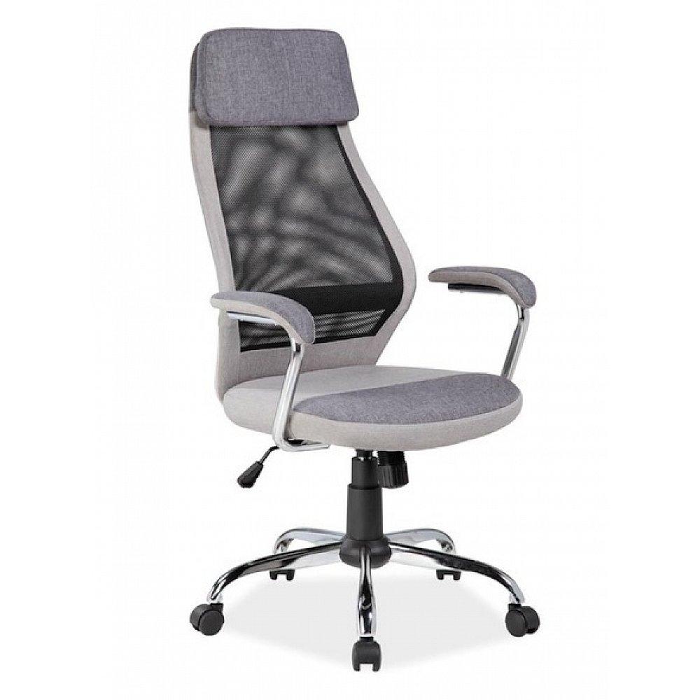 Kancelářské křeslo Q-336, šedá
