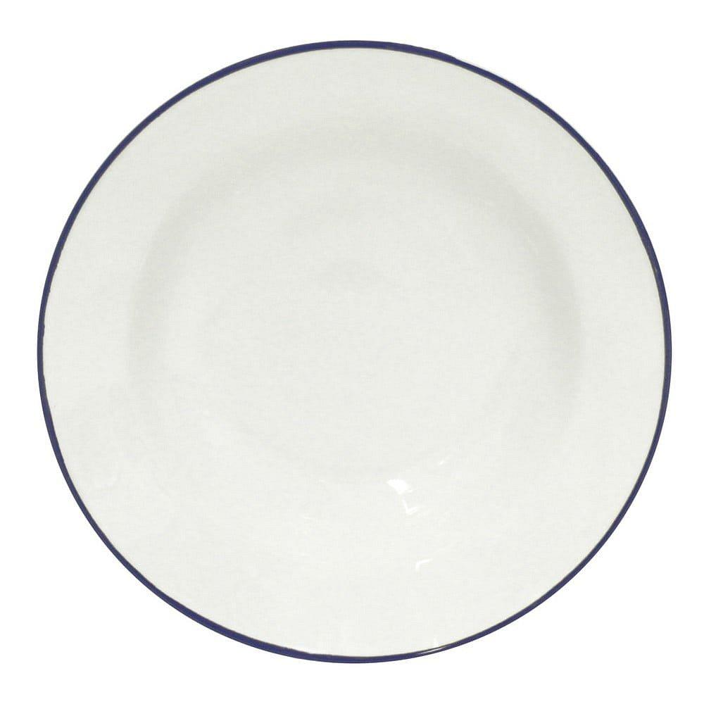 Bílý kameninový polévkový talíř Costa Nova Beja, ⌀21cm