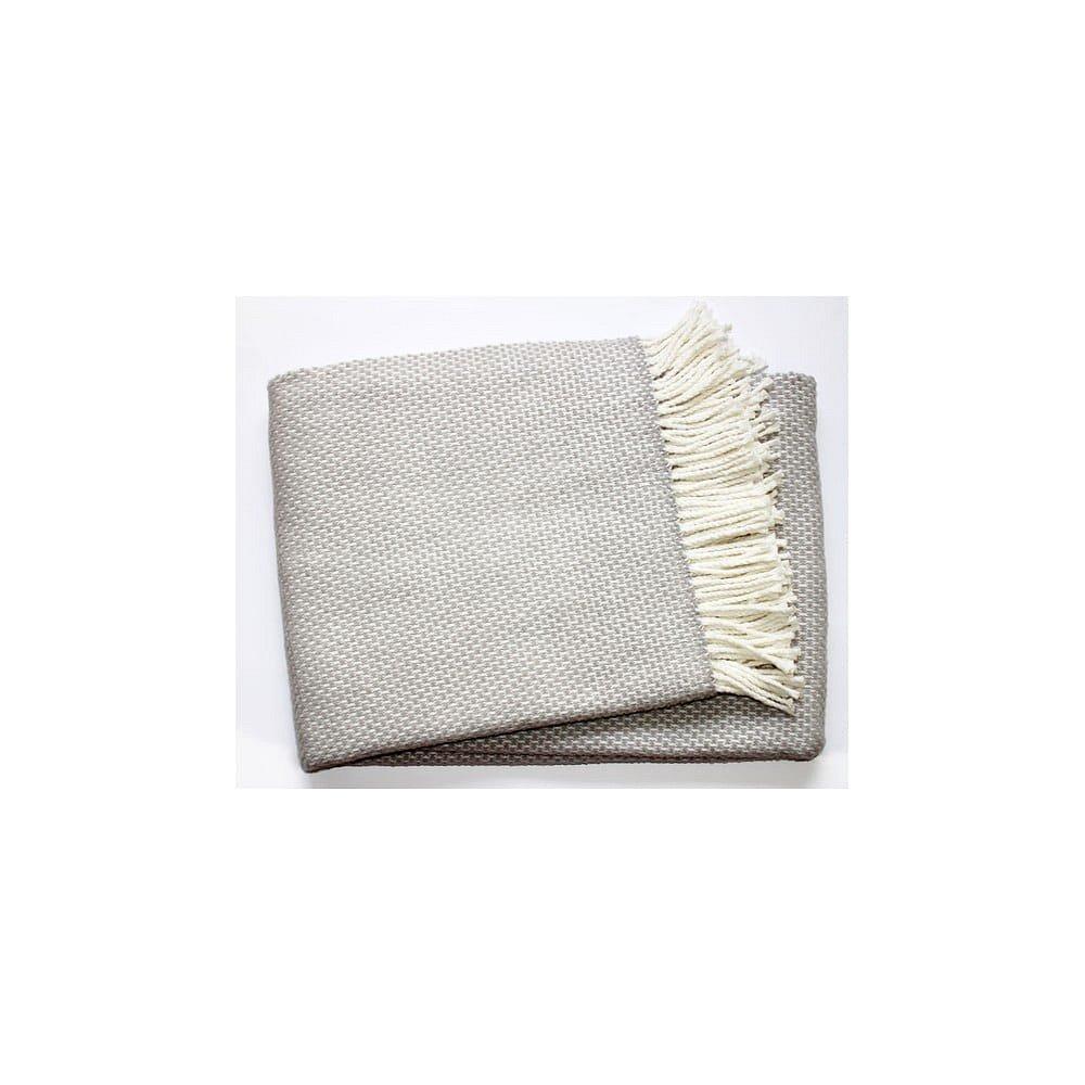 Šedá deka Euromant Zen Plaid, 140x180cm