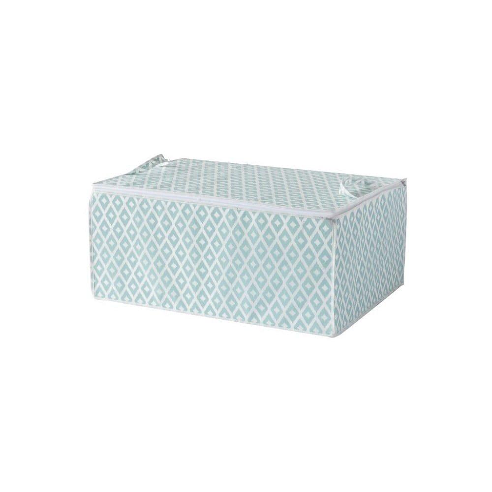 Zelený úložný box na peřinu Compactor, délka 70cm