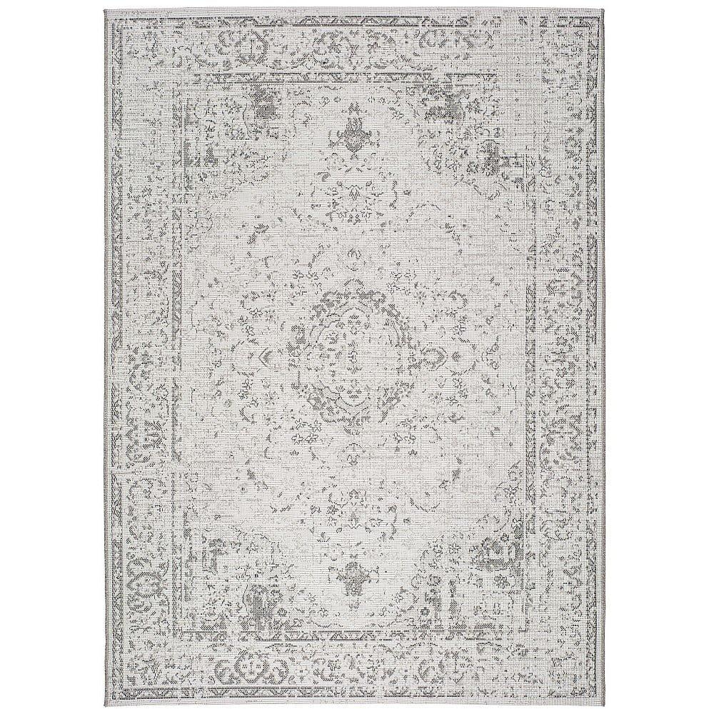 Šedobéžový venkovní koberec Universal Weave Lurno, 155 x 230 cm
