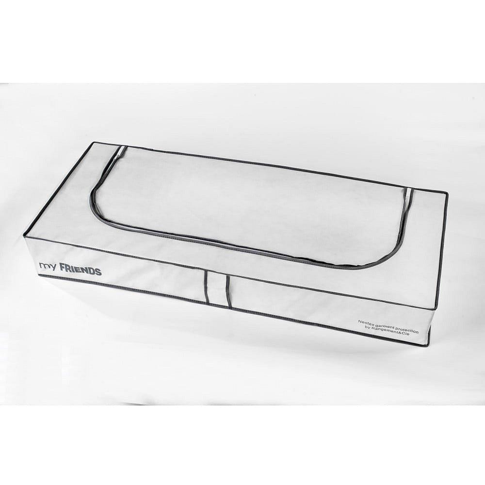 Bílý úložný box Compactor Underbed