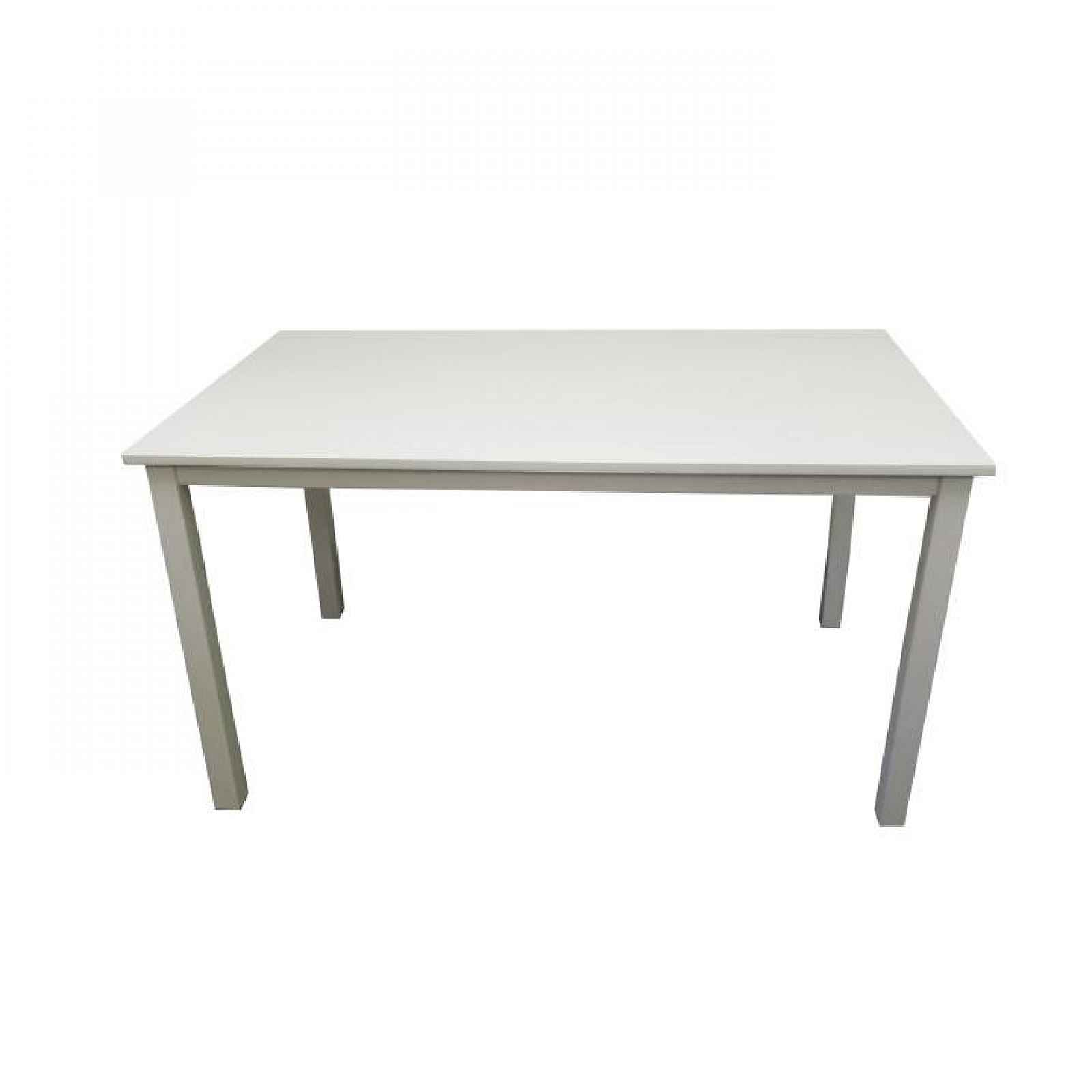 Jídelní stůl, bílá, 110 cm, ASTRO 0000203067 Tempo Kondela
