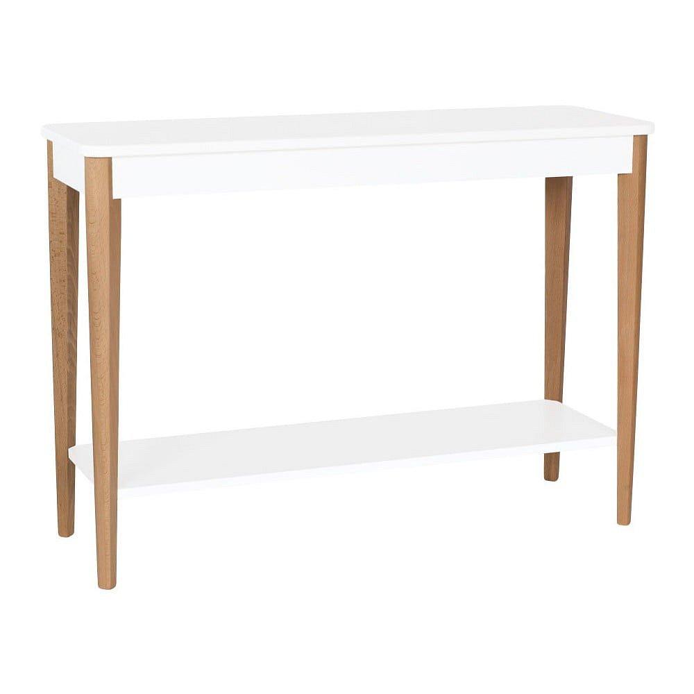 Bílý konzolový stolek Ragaba Ashme, šířka105cm