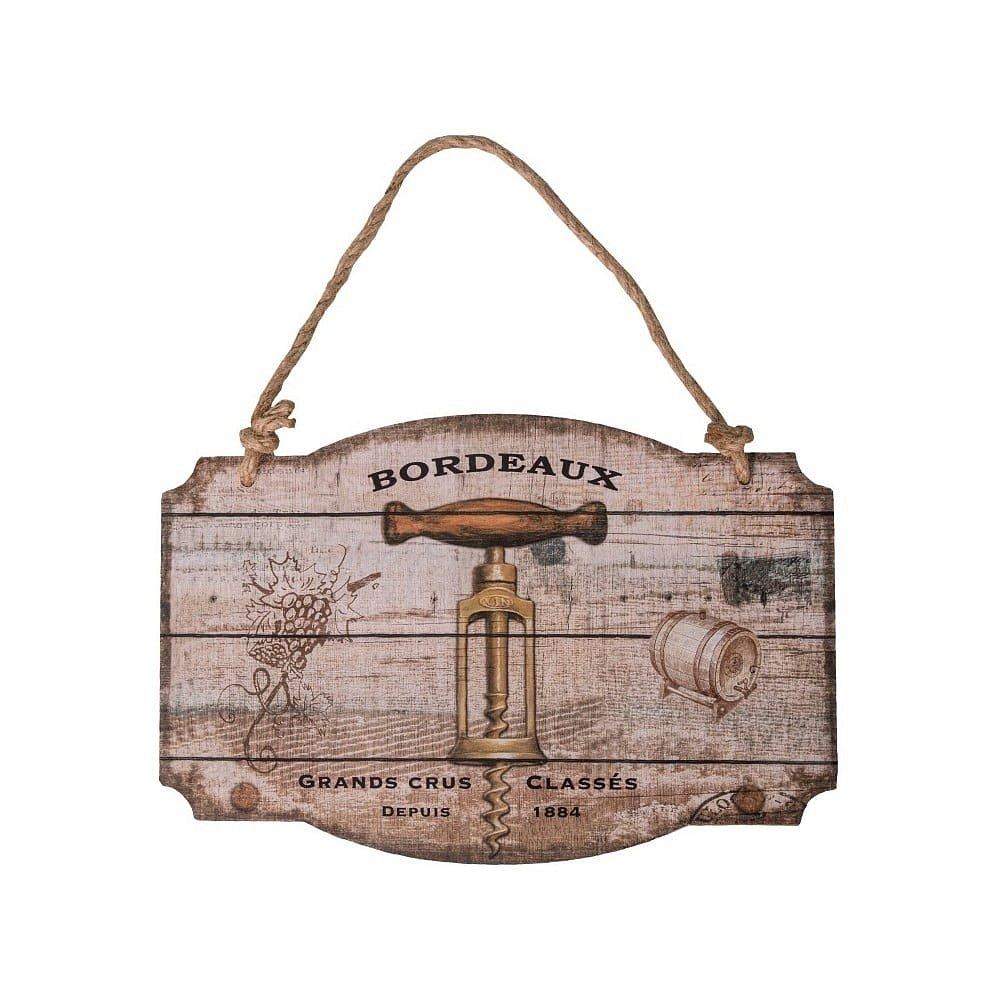 Dřevěná cedule Antic Line Bouchon