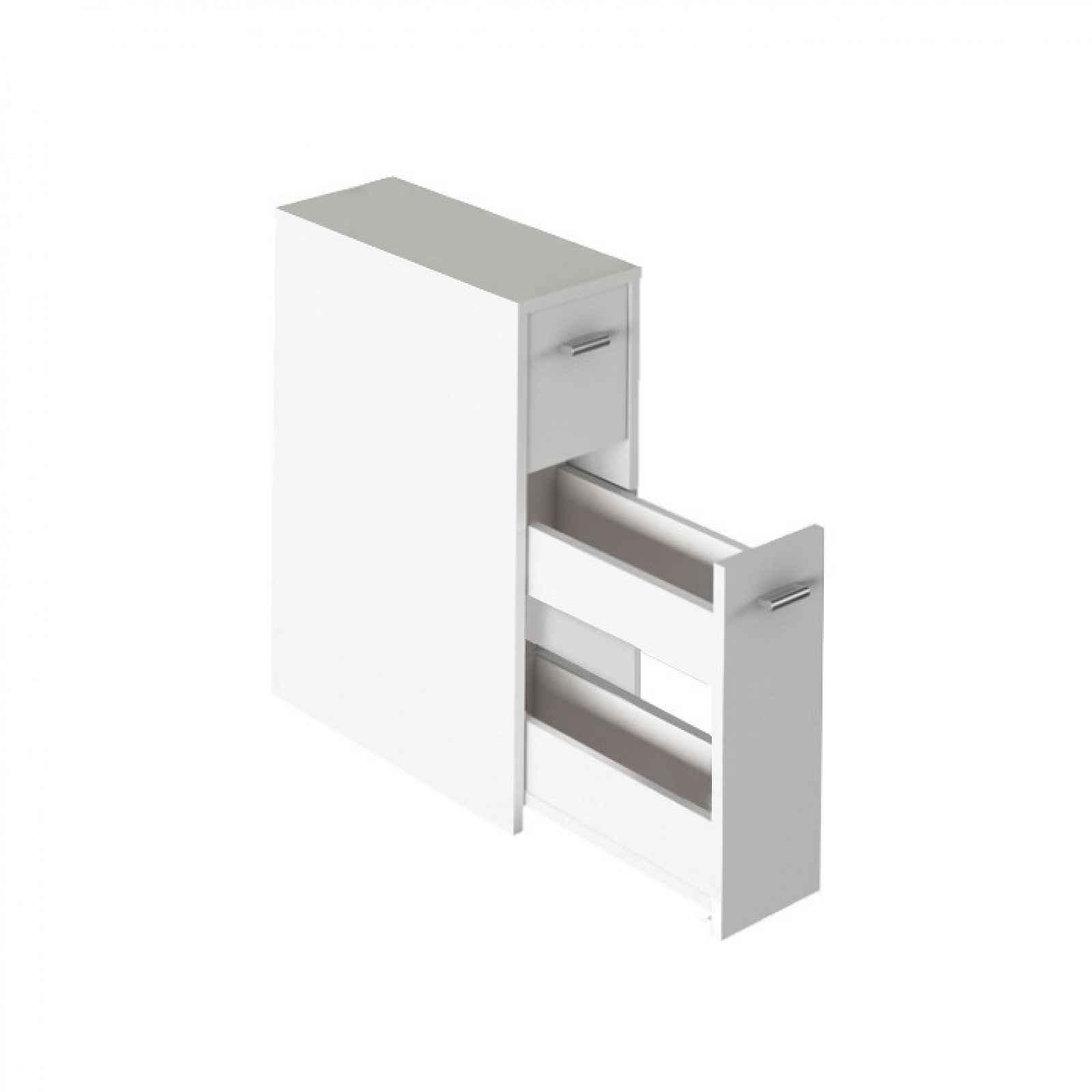 Koupelnová skříňka NATALI TYP 7 Tempo Kondela Bílá