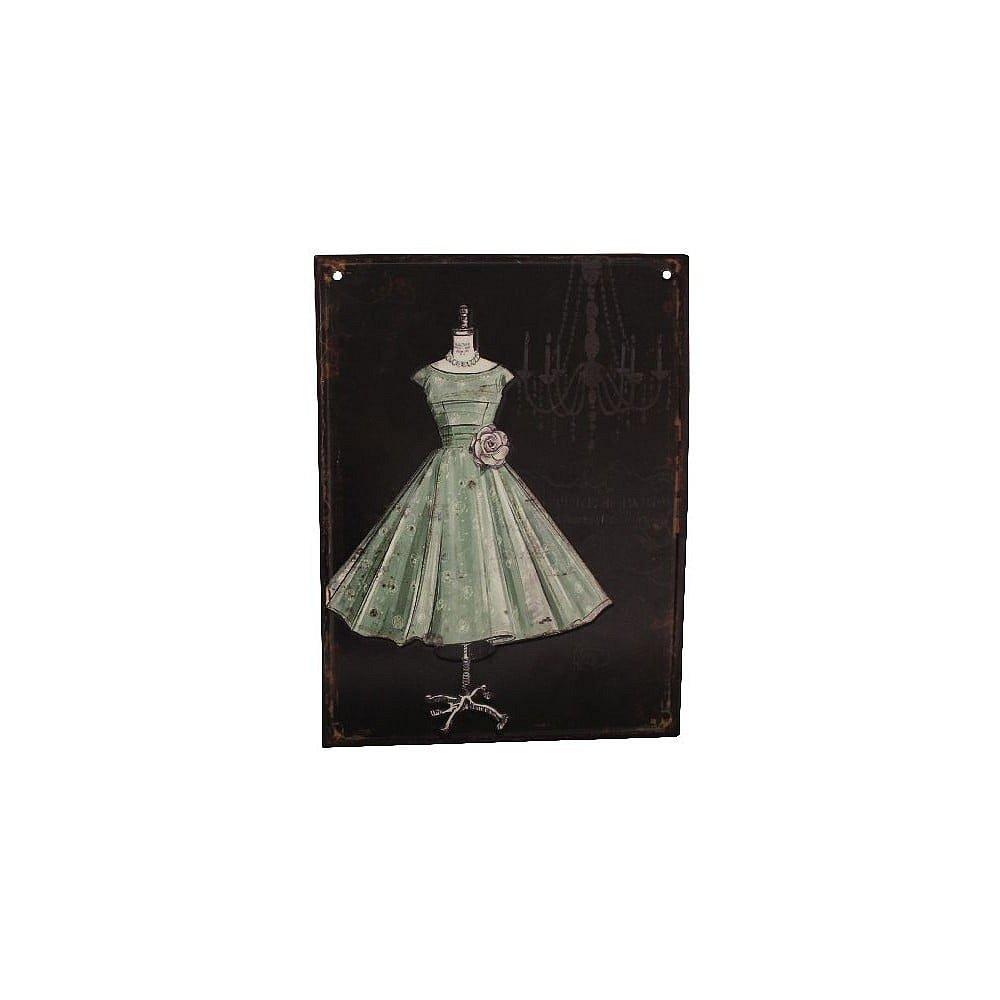 Plechová cedule Antic Line Antic Ball Gown