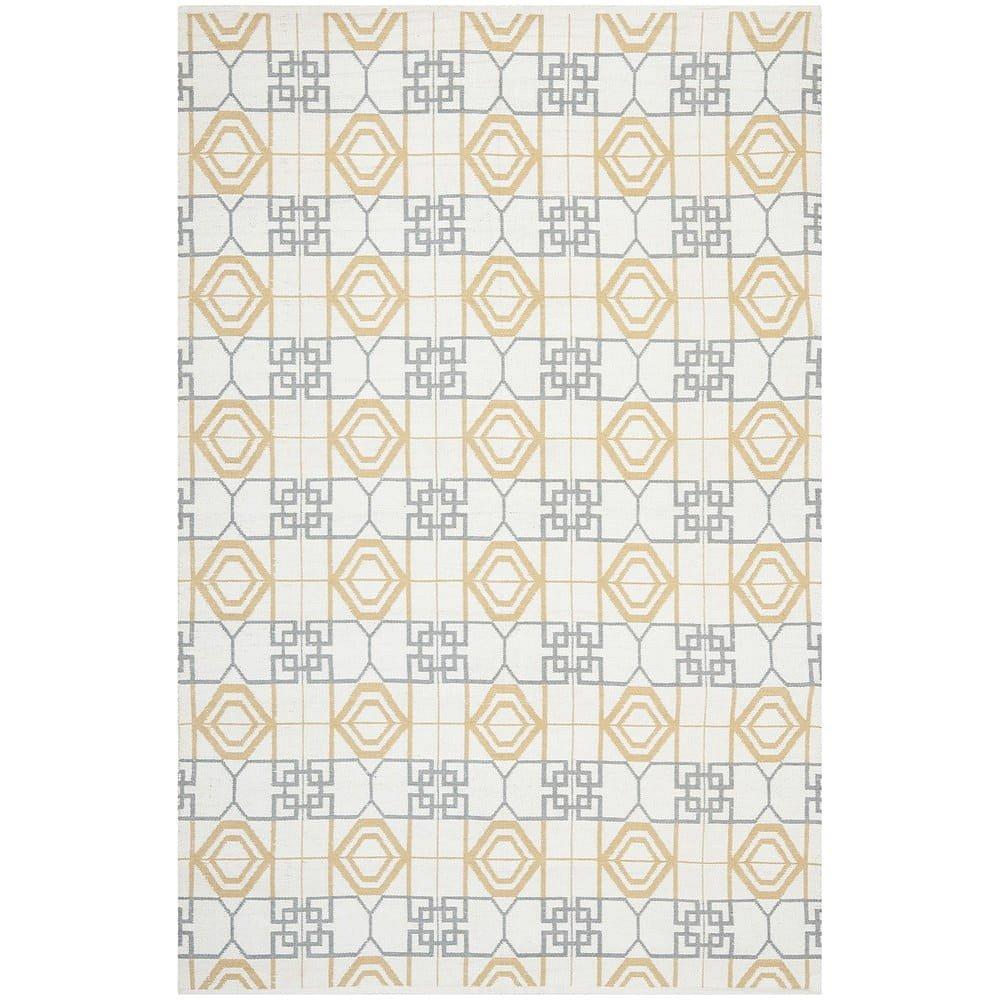 Odolný koberec z recyklovaného plastu vhodný i na venkovní použití Safavieh Collin, 243 x 152 cm