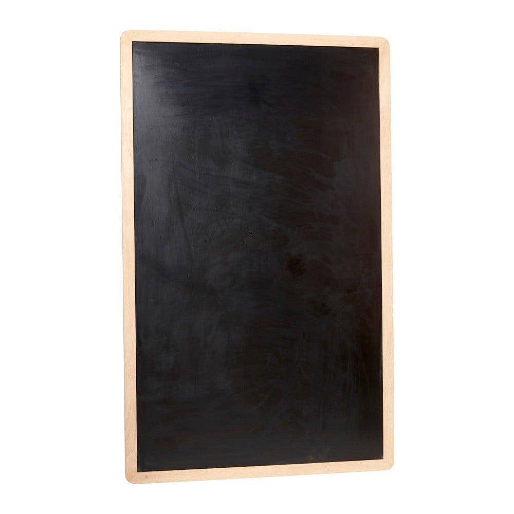 Černá nástěnná tabule Hübsch Oak Board