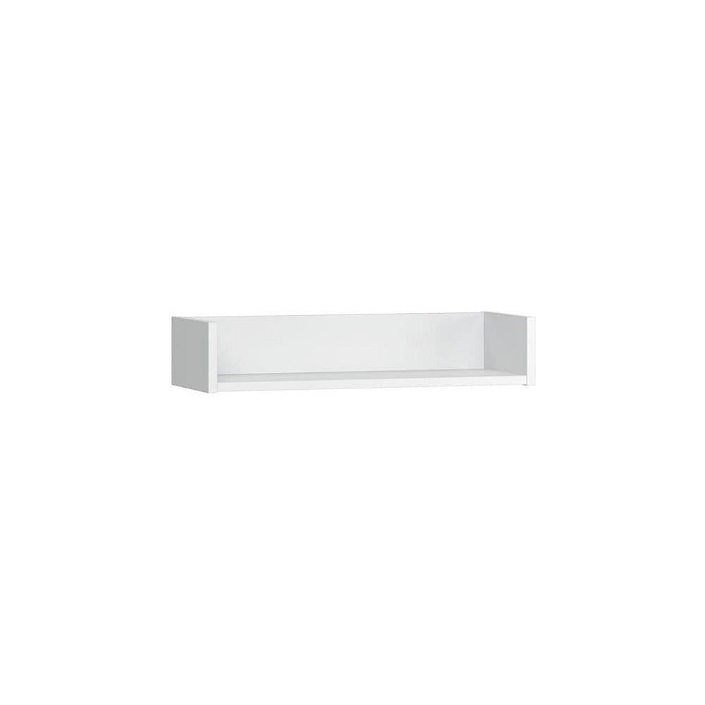 Bílá nástěnná police Vox Boca, šířka 60 cm