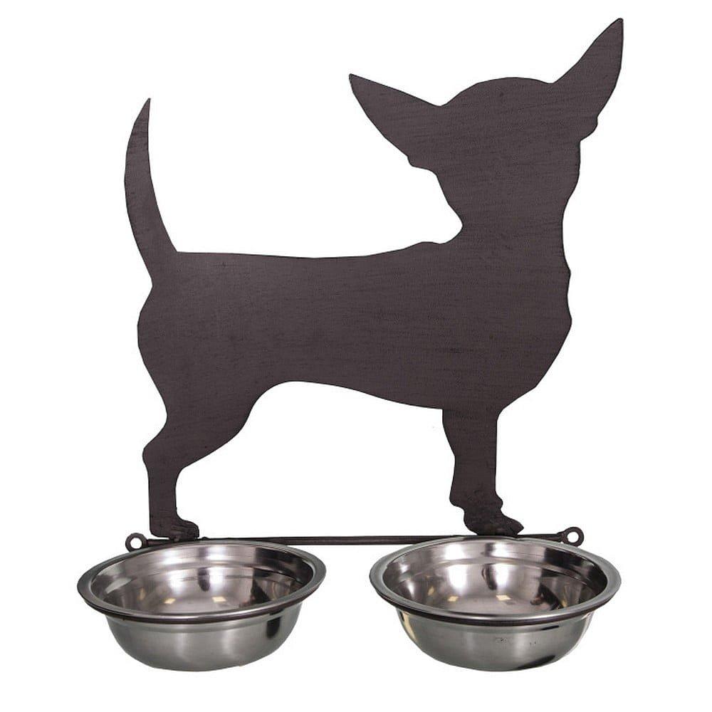 Dvojitá miska pro psy Antic Line Chiwawa