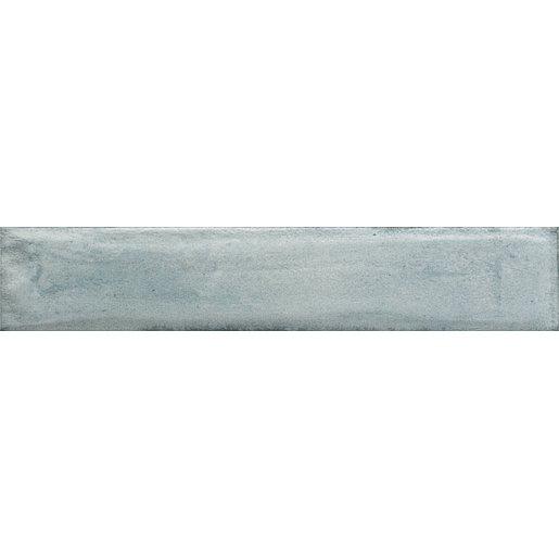 Obklad Del Conca Frammenti azzurro 7,5x40 cm lesk 74FR02