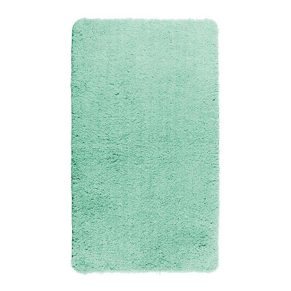 Tyrkysově modrá koupelnová předložka Wenko Belize, 90x60cm
