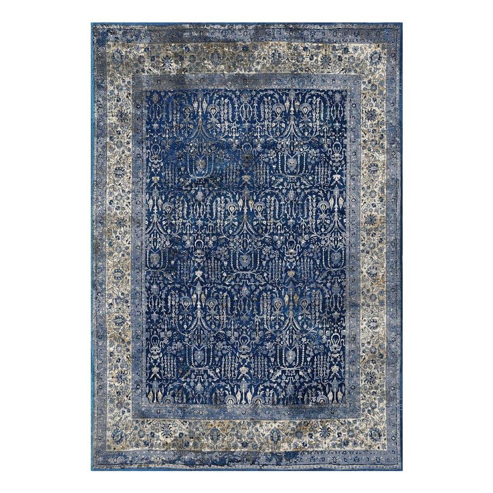 Modro-šedý koberec Floorita Tabriz, 120 x 180 cm