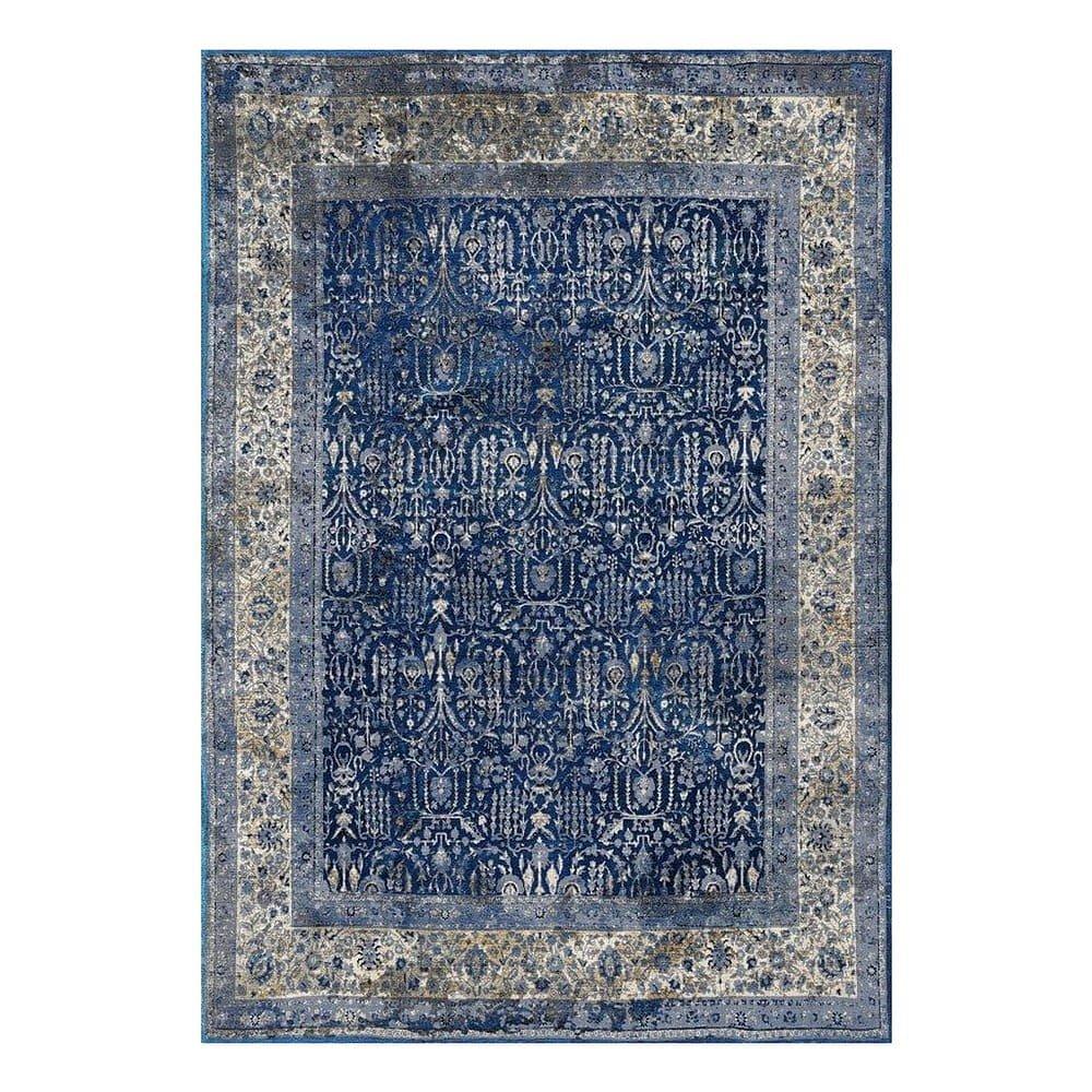 Modro-šedý koberec Floorita Tabriz, 160 x 230 cm