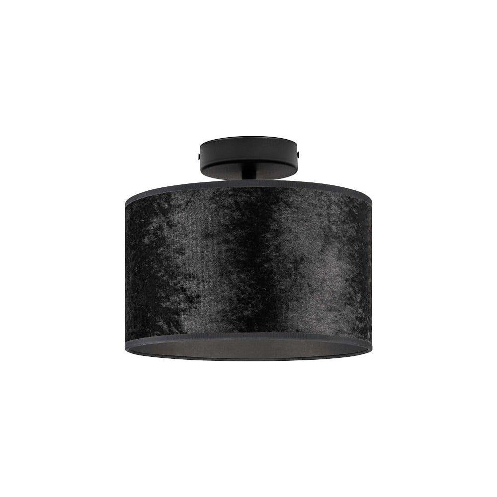 Černé stropní svítidlo Bulb Attack Quince, ⌀ 25 cm