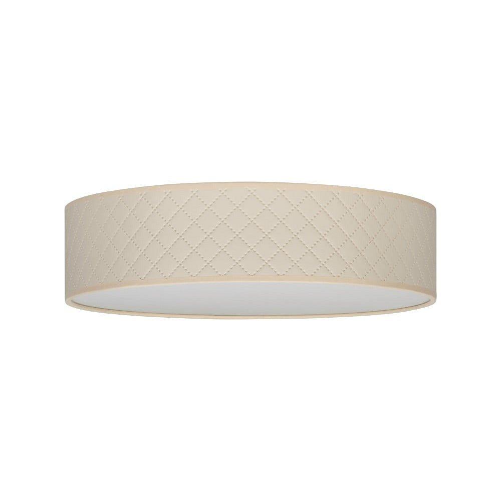 Krémové stropní svítidlo Bulb Attack Trece, ⌀ 40 cm