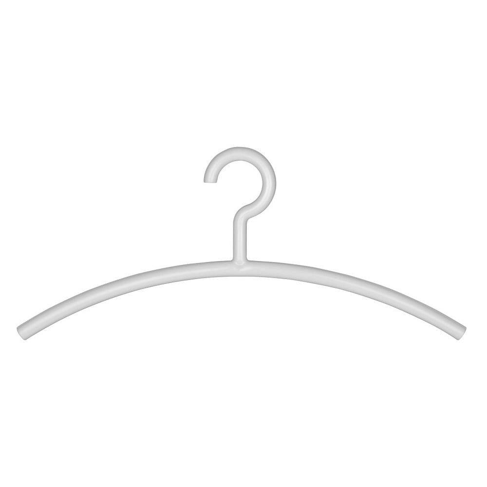 Bílé ramínko na oblečení Wenko Mir