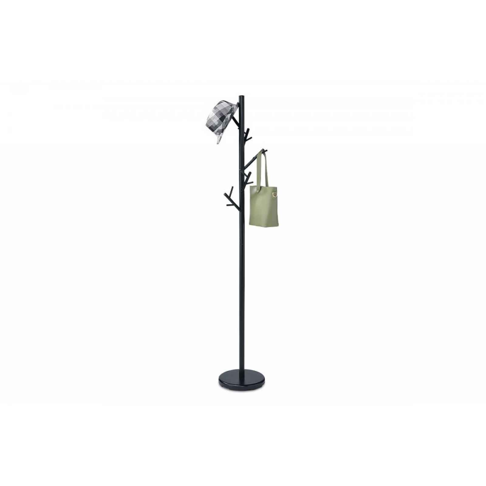 Stojanový věšák - SV 10, 170 cm (černá, kov)