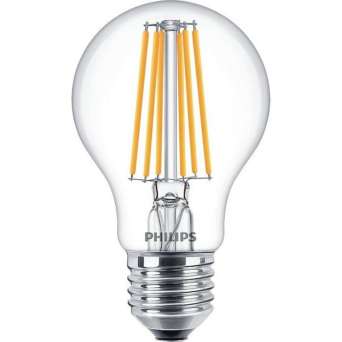 Žárovka LED Philips Filament Classic E27 8W 2700K