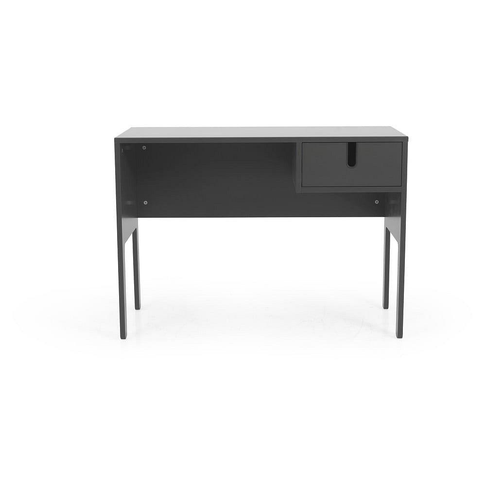 Šedý pracovní stůl Tenzo Uno