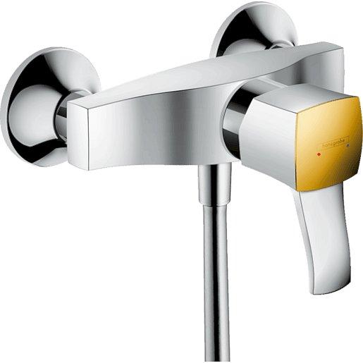 Sprchová baterie Hansgrohe Metropol Classic bez sprchového setu 150 mm chrom/vzhled zlata 31360090