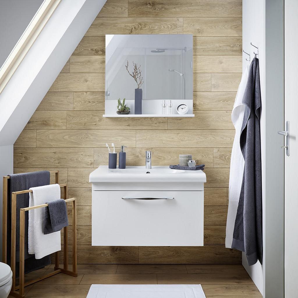 Koupelnová Skřiňka Luna Bílá