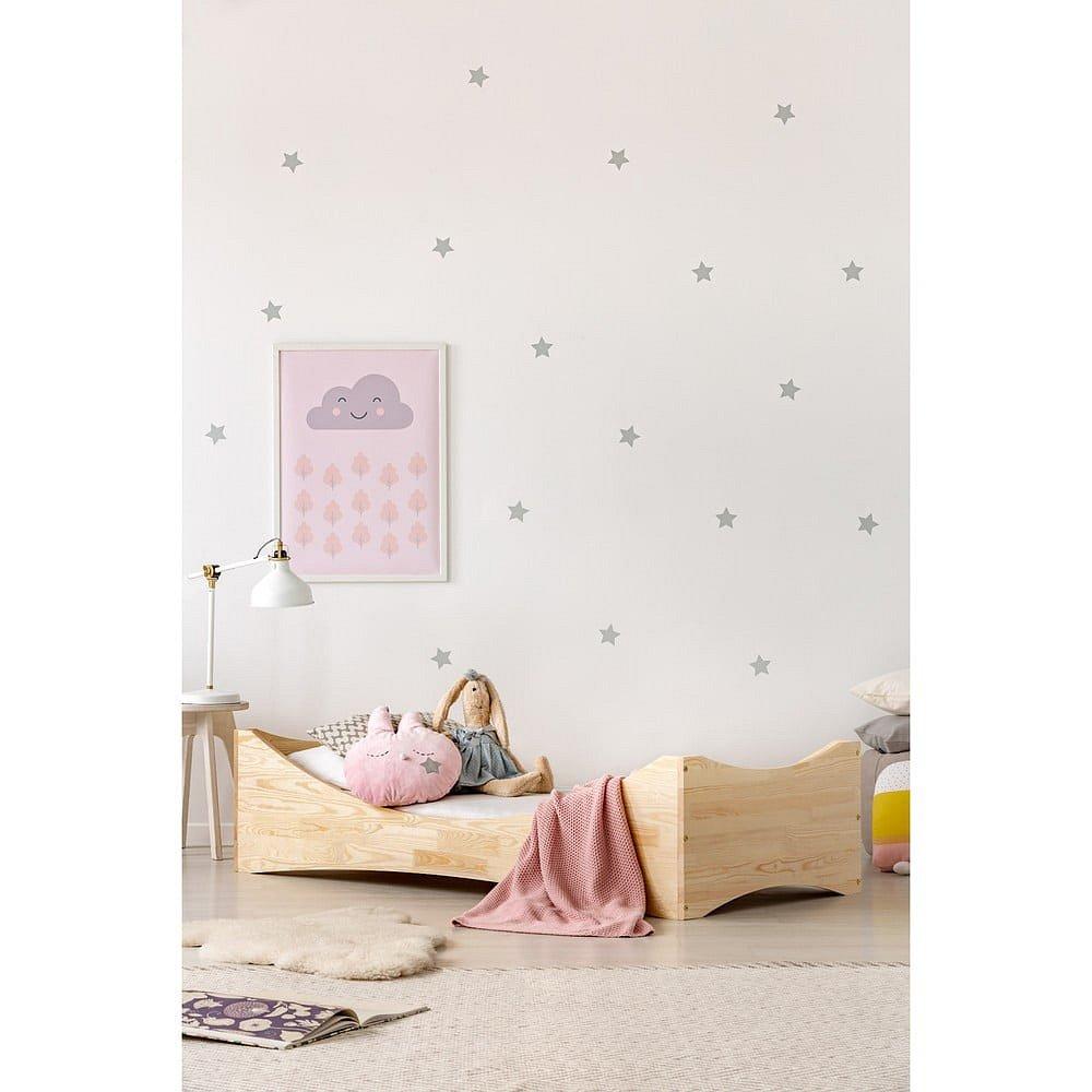 Dětská postel z borovicového dřeva Adeko Mila BOX 3,80x180cm