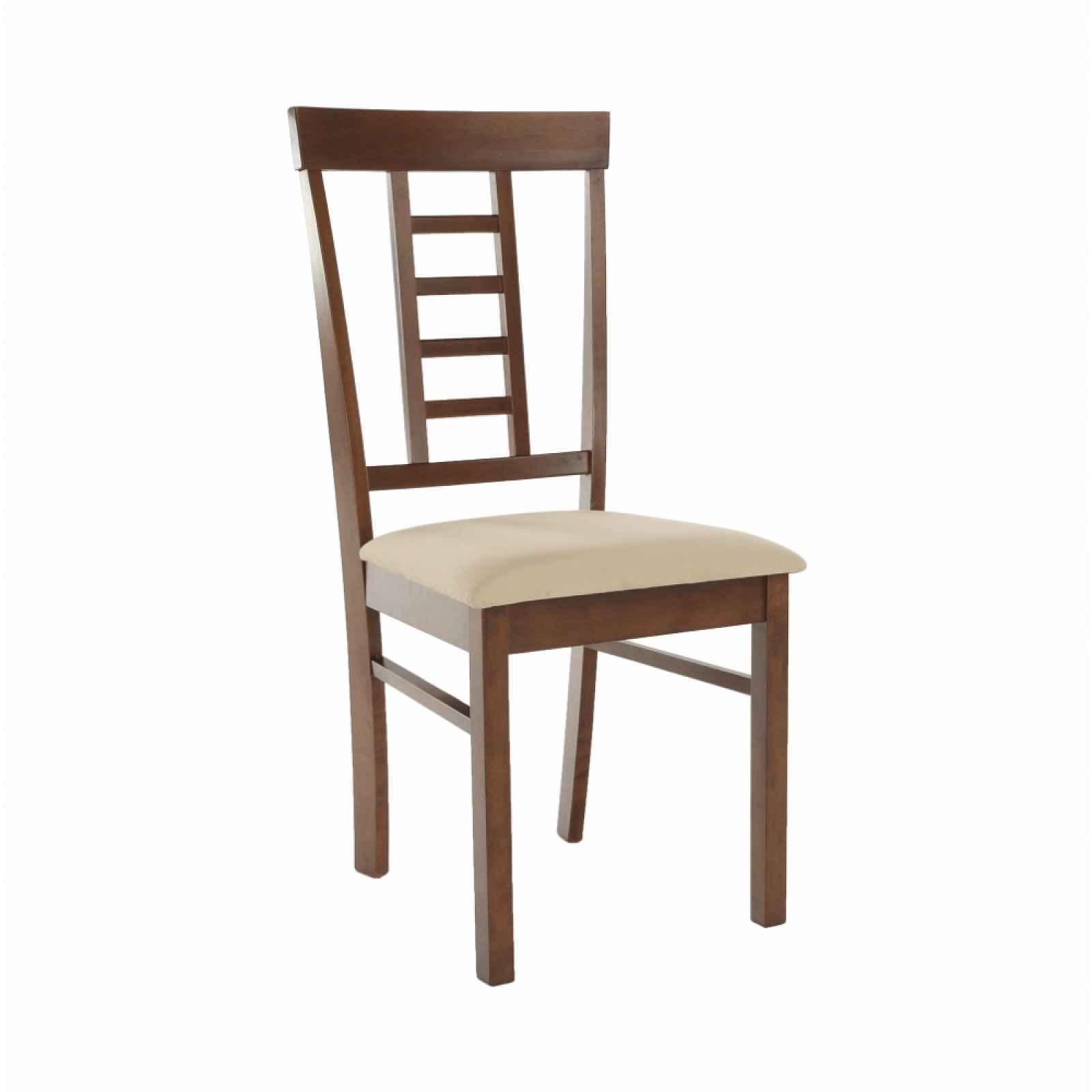 Jídelní židle OLEG NEW ořech / béžová Tempo Kondela