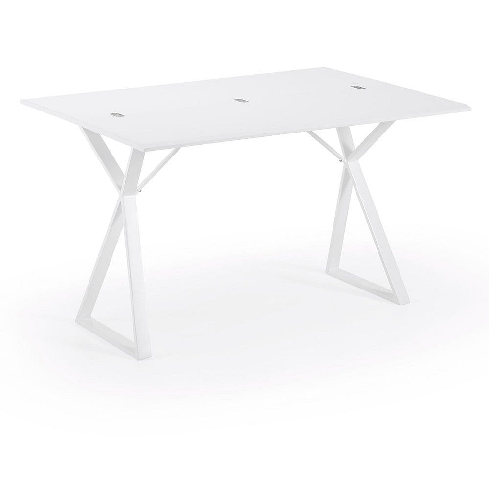 Bílý konzolový stolek La Forma Atik