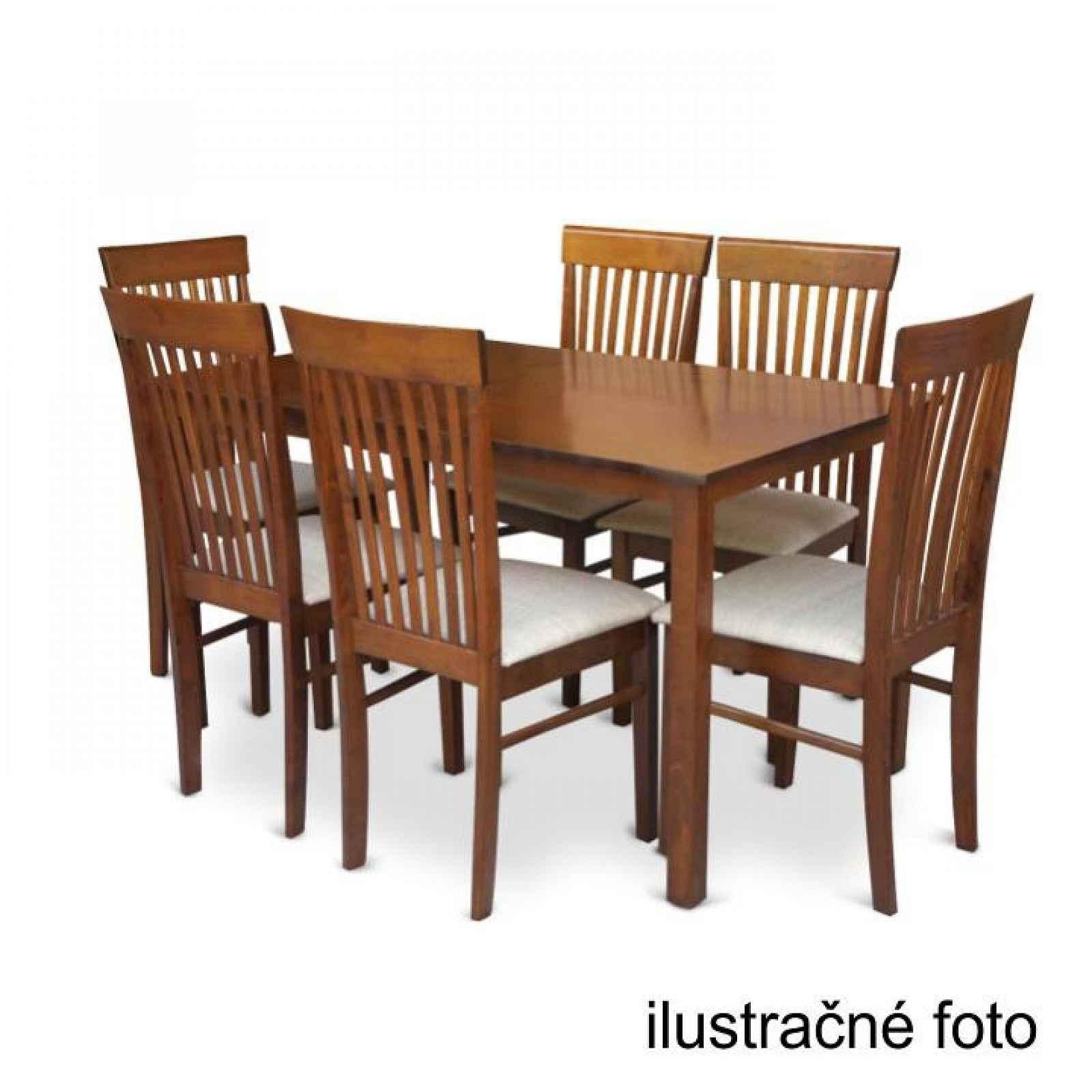 Stůl 135, ořech, ASTRO NEW 0000203069 Tempo Kondela