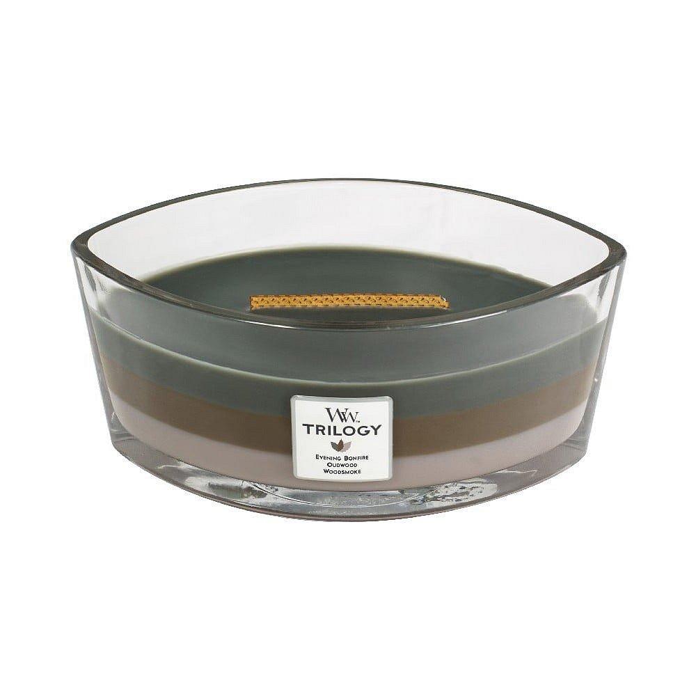 Třívrstvá svíčka WoodWick Útulný srub, 30hodin hoření