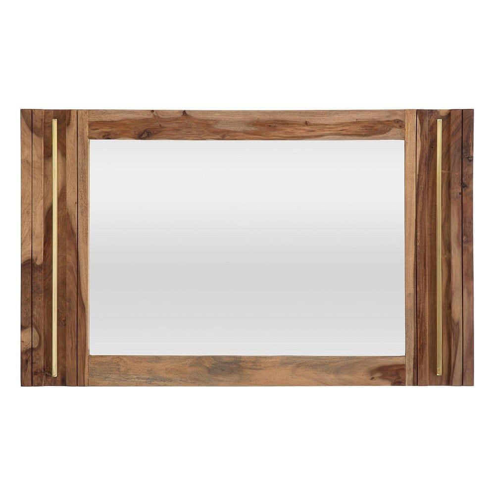 Zrcadlo ze dřeva sheesham Mauro Ferretti Elegant